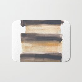 [161216] 13. Drenched Watercolor Brush Stroke Bath Mat