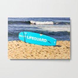 Lifeguard. Bronte Beach. Sydney Australai Metal Print