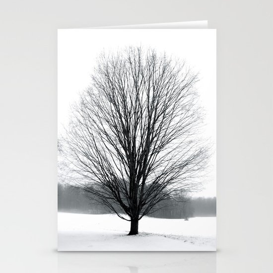 A Cold Winters Fog Stationery Cards