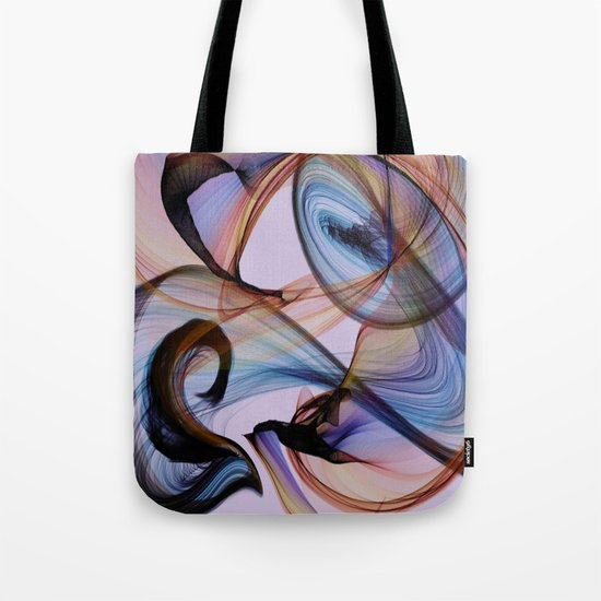 Bird Flame Purple Tote Bag