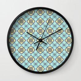 Floor Series: Peranakan Tiles 76 Wall Clock