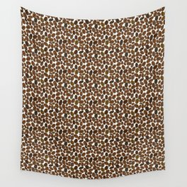 Coffee beans pattern Wall Tapestry