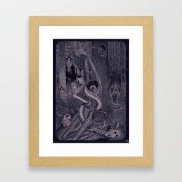 Night of the Sacrifice Framed Art Print