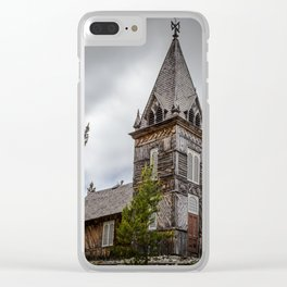 Old Church Clear iPhone Case