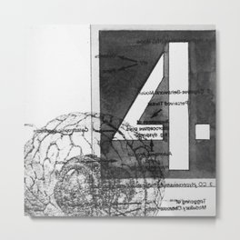 four Metal Print