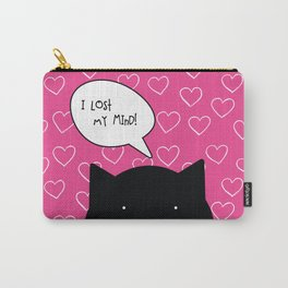 I lost my mind. Love quote from cat character. Carry-All Pouch
