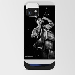 The old contrabass player iPhone Card Case