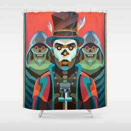 Baron Samedi Shower Curtain