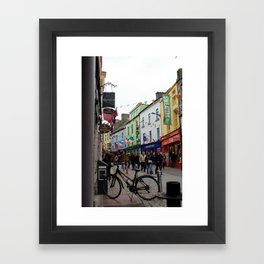 Galway Streets Framed Art Print
