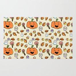 Halloween Doodles Rug