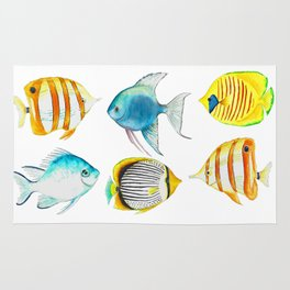 Tropical Fish - Marine Collection Rug