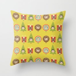 It´s Christmas Time! Throw Pillow