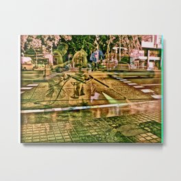 pump for heart ethic Metal Print