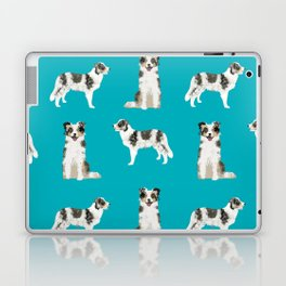 Border Collie dog breed gifts collies herding dogs pet friendly Laptop & iPad Skin