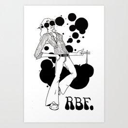 BLOTTED Art Print