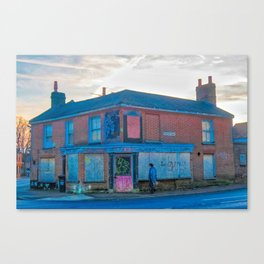 Street Photography, Norwich. U.K Canvas Print