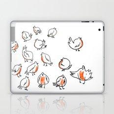 Erithacus rubecula Laptop & iPad Skin