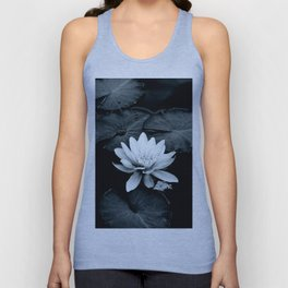 Moonlight Waterlily Unisex Tank Top