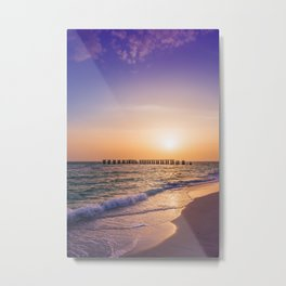 Gasparilla Island Sunset Metal Print