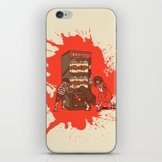Hurry up, someone is coming! iPhone & iPod Skin
