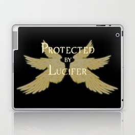 Protected by Lucifer Light Laptop & iPad Skin