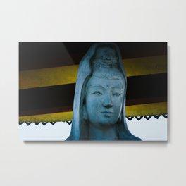 Statue in Ninh Binh Metal Print