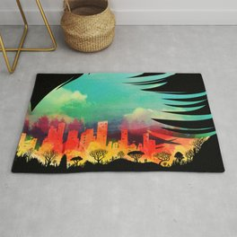 In Flying Colours Rug