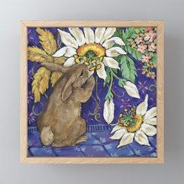 Fragrant Flowers Framed Mini Art Print
