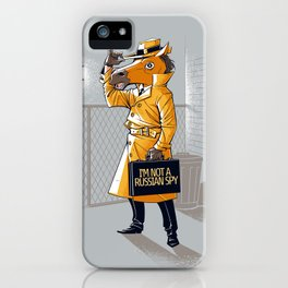 I'm Not a Russian Spy iPhone Case