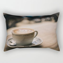 Cappuccion in the Window Rectangular Pillow