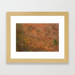 all that glitters is not gold Framed Art Print