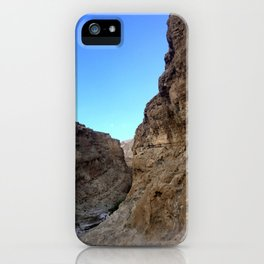Oman Ravine Rocky Hills Photography Art Print  iPhone Case