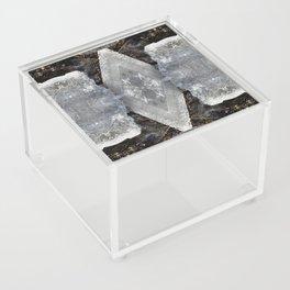Diamond Ice Jewels Pattern Acrylic Box