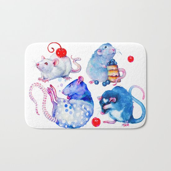 Sweet Rats Bath Mat