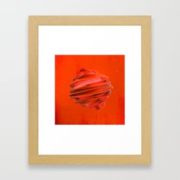SPHeRe GLoP | RGB | RED Framed Art Print