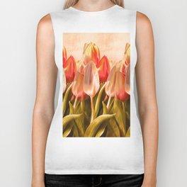 Tulips From Amsterdam Biker Tank