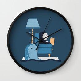 Reading Buddies Wall Clock