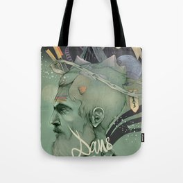 The traveler dreams Tote Bag