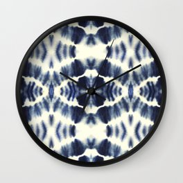 BOHEMIAN INDIGO BLUE Wall Clock