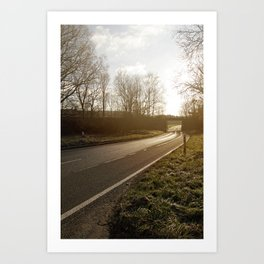 Road to Nowhere Art Print