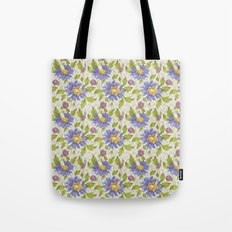 Watercolor pattern Tote Bag