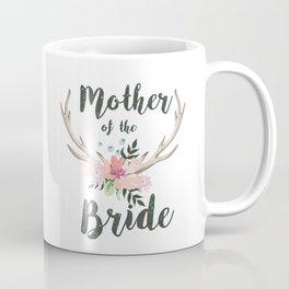 mother of the bride antlers Coffee Mug