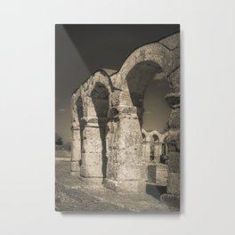 Roman amphytheatre Metal Print