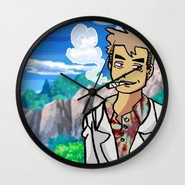 Professor Toke Wall Clock