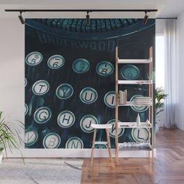 Vintage Type Wall Mural