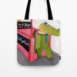 A for Alligator Tote Bag