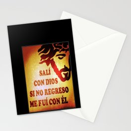 Sali con Dios Stationery Cards
