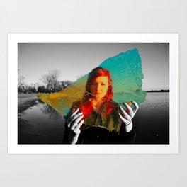 Reality Away Art Print