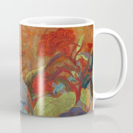 flower3【Japanese painting】 Coffee Mug