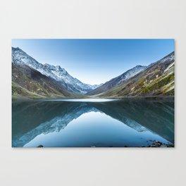 Saif-ul-mulook lake in Pakistan Canvas Print